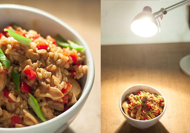 Food-Fotografie Licht